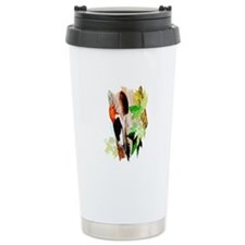 Red Headed Woodpecker Travel Mug