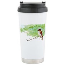 Eastern Wood Pewee Travel Coffee Mug