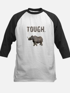 Tough Black Rhino Kids Baseball Jersey