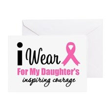 I Wear Pink Greeting Card