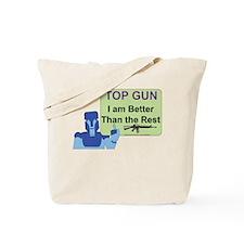 Top Gun Gamer Tote Bag