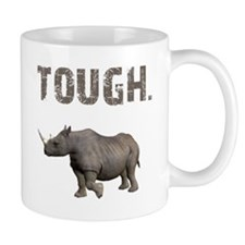 Tough Black Rhino Small Mug
