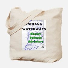 Indiana Waterways Tote Bag