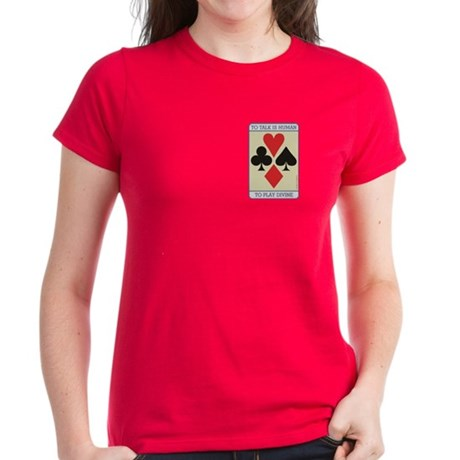 Cards Divine - Women's Dark T-Shirt
