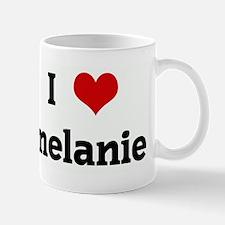 I Love melanie Mug