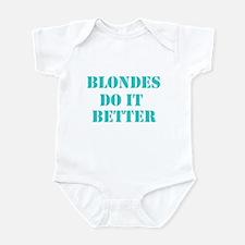 Blondes Do It Better Infant Bodysuit