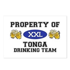Property of Tonga Drinking Team Postcards (Package