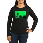 The Hitman Women's Long Sleeve Dark T-Shirt