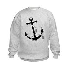 Rockabilly Tattoo Anchor Sweatshirt