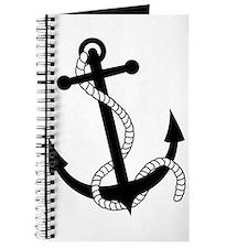 Rockabilly Tattoo Anchor Journal