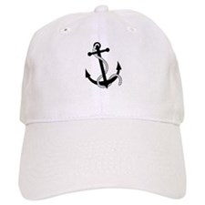 Rockabilly Tattoo Anchor Baseball Cap