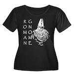The Roman Gnome Women's Plus Size Scoop Neck Dark
