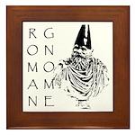 The Roman Gnome Framed Tile