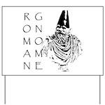 The Roman Gnome Yard Sign