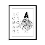 The Roman Gnome Framed Panel Print