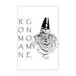 The Roman Gnome Mini Poster Print