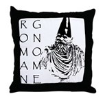 The Roman Gnome Throw Pillow