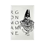 The Roman Gnome Rectangle Magnet (100 pack)