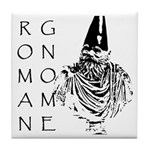 The Roman Gnome Tile Coaster