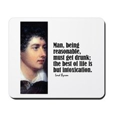 "Byron ""Intoxication"" Mousepad"
