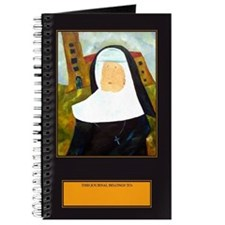 NUN WITH A PEARL EARRING Journal