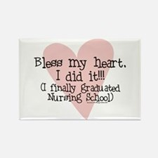 Bless the New Nurse Rectangle Magnet (10 pack)