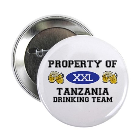 "Property of Tanzania Drinking Team 2.25"" Button"