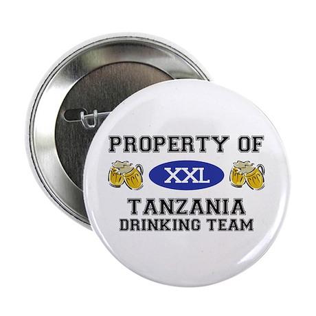 "Property of Tanzania Drinking Team 2.25"" Button (1"