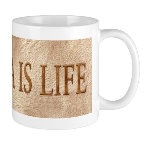 Yeshua is Life (seal) Mug