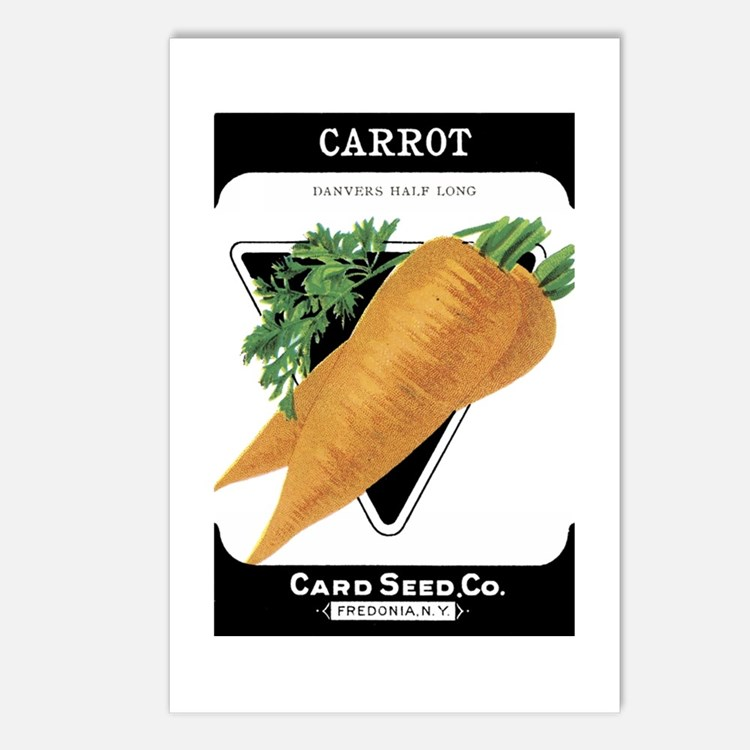 Carrots Postcards (Package of 8)