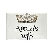 Aaron's Wife Rectangle Magnet