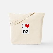 I Love DZ Tote Bag