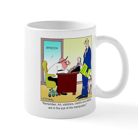 In the Eye of the Manipulator Mug