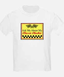 """Ask About My Checker"" T-Shirt"