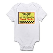 """Ask About My Checker"" Infant Bodysuit"