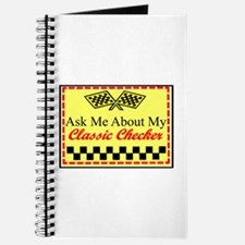 """""""Ask About My Checker"""" Journal"""