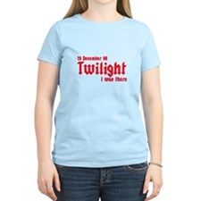 Twilight I was there UK T-Shirt
