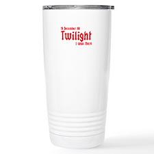 Twilight I was there UK Ceramic Travel Mug