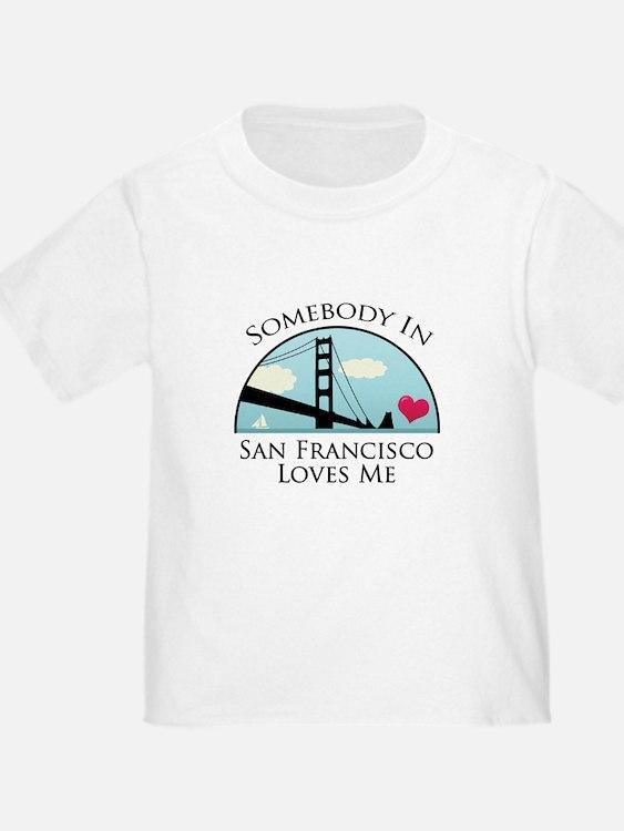 Somebody in San Francisco Loves Me T