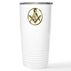 Masonic Circle Travel Mug