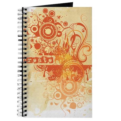 Orange Creative Chakra Journal