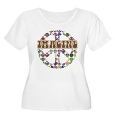 Imagine Peace On Earth T-Shirt