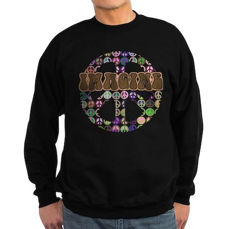Imagine Peace On Earth Sweatshirt (dark)
