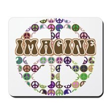 Imagine Peace On Earth Mousepad