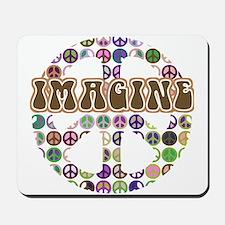 Imagine Peace On Earth Mousepad