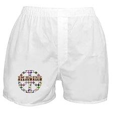 Imagine Peace On Earth Boxer Shorts