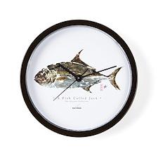 A fish called Jack - Wall Clock