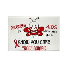 AIDS Awareness Month 4.1 Rectangle Magnet