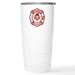 Fire and Rescue Mason Travel Mug