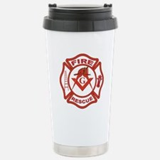 Fire and Rescue Mason Travel Mug